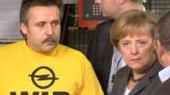 Merkel macht Opelanern Mut