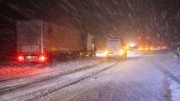 Schnee sorgt für Verkehrschaos im Südwesten