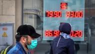 In Russland waren im vergangenen Jahr 13,3 Prozent der Aktien im Ausland investiert.