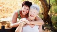 Durch die Pflege zuhause sind viele gemeinsame Stunden mit den Liebsten möglich.