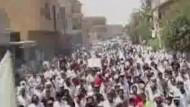 Massenproteste gegen Assad