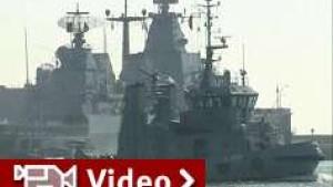 Deutsche Marine kontrolliert Sechs-Meilen-Zone