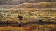 """Das Bild von Van Gogh """"Meer bei Scheveningen"""" von 1882 ist wieder aufgetaucht."""