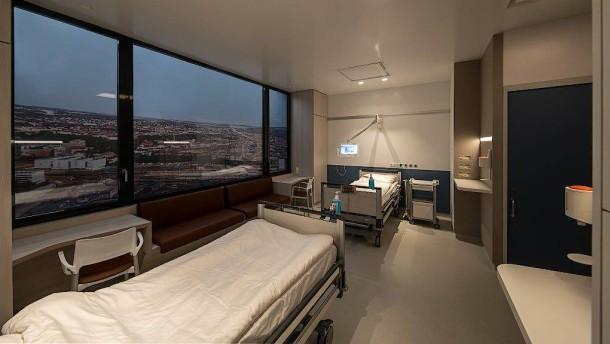 Neue Architektur gegen Klinikkeime