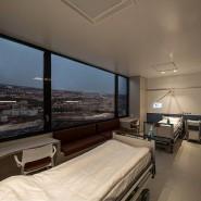Das neuartige Patientenzimmer soll lebensbedrohliche Infektion im Krankenhaus verhindern.
