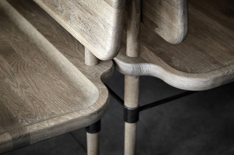 Mit Liebe zum Detail: Auch aufs Holz kommt es an bei der neuen Atmospheres-Kollektion von Malte Gormsen und Space Copenhagen.