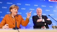 Merkel und Seehofer: Zwei Tage gemeinsames Treffen