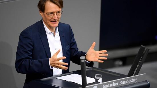 Lauterbach wirbt für Widerspruchslösung