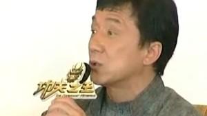 Jackie Chan wirbt für Olympia