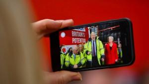 Die britische Wahl wird auch im Internet entschieden