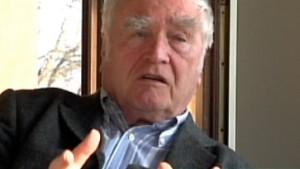 Martin Walser bedauert Konflikt mit Bubis