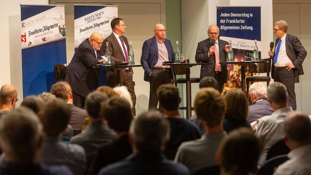 """""""Wir können Frankfurts Straßen nicht verbreitern"""""""