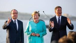 Wie das Europa-Tandem zum Trike wurde