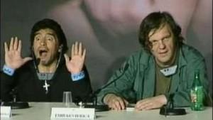 Maradona stellt Maradona-Film in Cannes vor