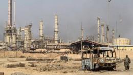 Erdöl-Metropole in Trümmern