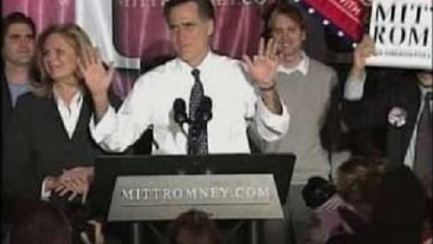Klarer Sieg für Mitt Romney