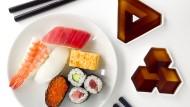 Der perfekte Sushi-Genuss: natürlich nur mit Stäbchen