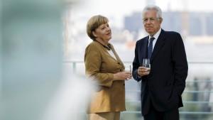 Merkel bekräftigt Ablehnung einer Banklizenz für den ESM
