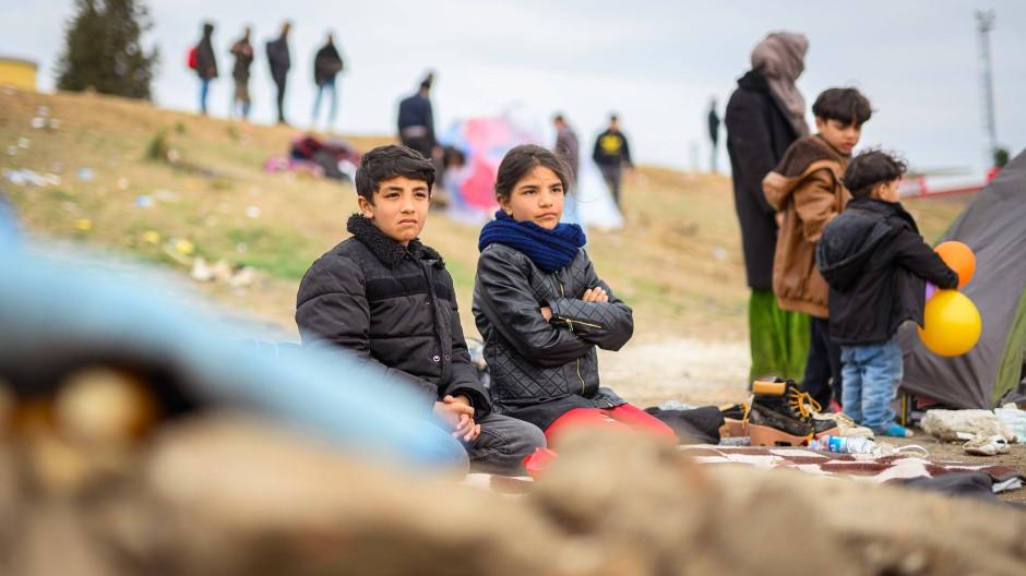 Deutschland will 50 Flüchtlingskinder aufnehmen
