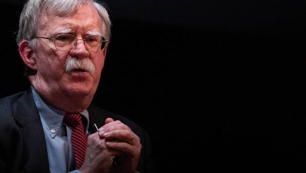 Trump will Veröffentlichung von Boltons Buch verhindern
