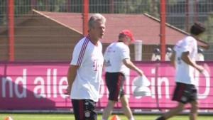 Trainingsauftakt bei den Bayern