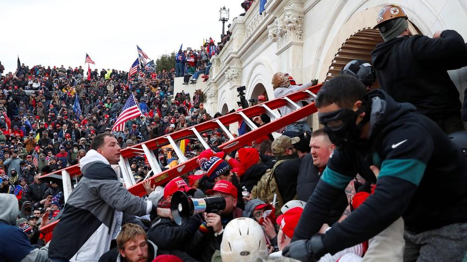 Der Sturm auf das Kapitol am 6. Januar 2021