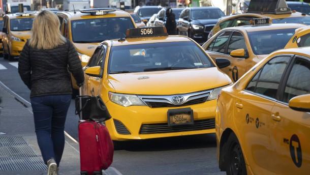 New Yorks Taxifahrer können hoffen