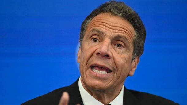 New Yorks Gouverneur Cuomo soll Frauen sexuell belästigt haben
