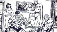 Sechzig Jahre Marvel-Verlag: Das Amerikahaus in München widmet den Comics eine Ausstellung