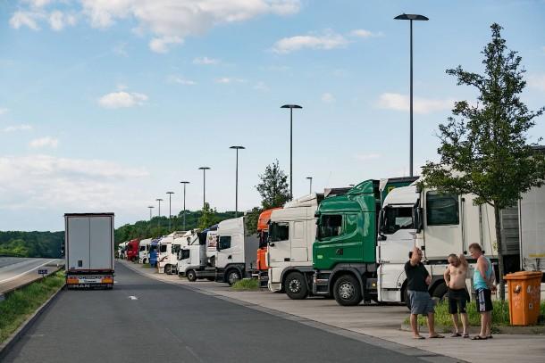 Bild zu: Mindestlohn für polnische Kraftfahrer? EU ...