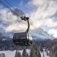 "Bald befördert der ""Eiger Express"" seine Gäste 47 Minuten schneller zum Jungfraujoch."