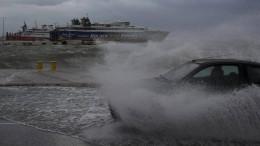 Mindestens zwei Tote bei Unwetter auf Kreta