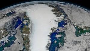 Grönlands Eispanzer auf dem Rückzug