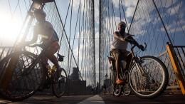 Fahrrad-Boom zwischen Wolkenkratzern