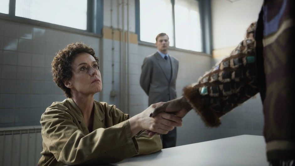 """Maria Schrader als DDR-Spionin in """"Deutschland 89"""". Die dritte Staffel der Serie läuft demnächst bei Amazon Prime."""