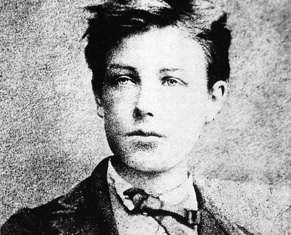 Arthur Rimbaud (1854 – 1891) als junger Mann