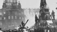 Erinnerung an den Prager Frühling