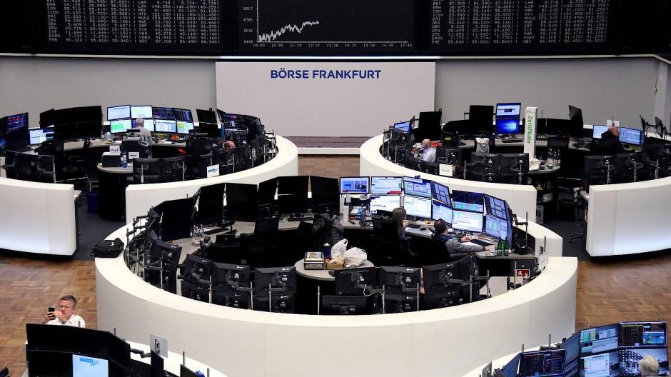 An der Frankfurter Börse geht es wieder etwas aufwärts.