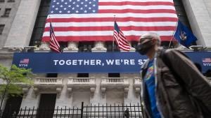 New Yorker Börse hat wieder geöffnet