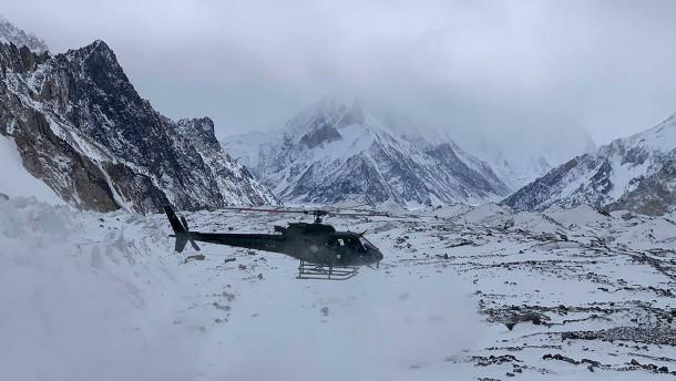 Sohn findet Leiche von Vater auf dem K2 in Pakistan