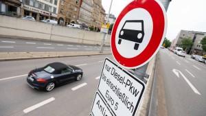 Keine weiteren Diesel-Fahrverbote in Hamburg und Ludwigsburg