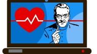 Ferndiagnose über das Internet: Die Online-Praxis ist in Deutschland stark umstritten.