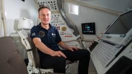 ESA-Astronaut Maurer ist bereit