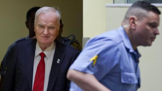 Mladic wegen Kriegsverbrechen verurteilt