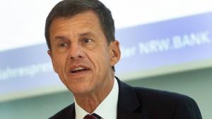 Neuer Vertrag in der NRW-Bank für kaum präsenten VÖB-Präsidenten