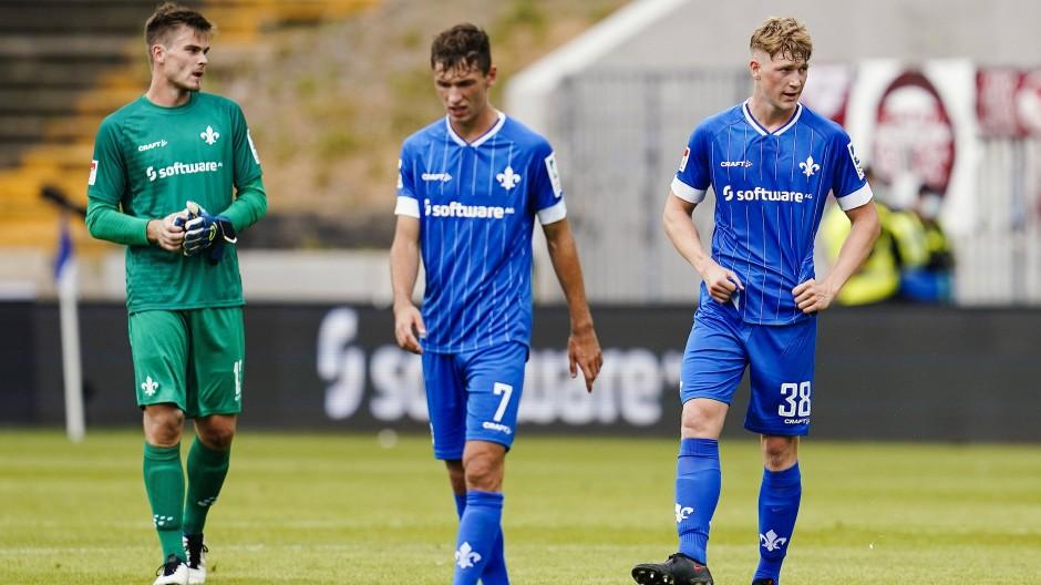 Clemens Riedel (rechts) spielt normalerweise für die AJugend des SV Darmstadt 98.