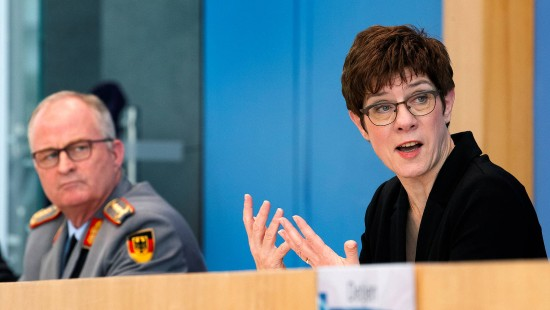 Bundeswehr will zivilen Kräften beispringen