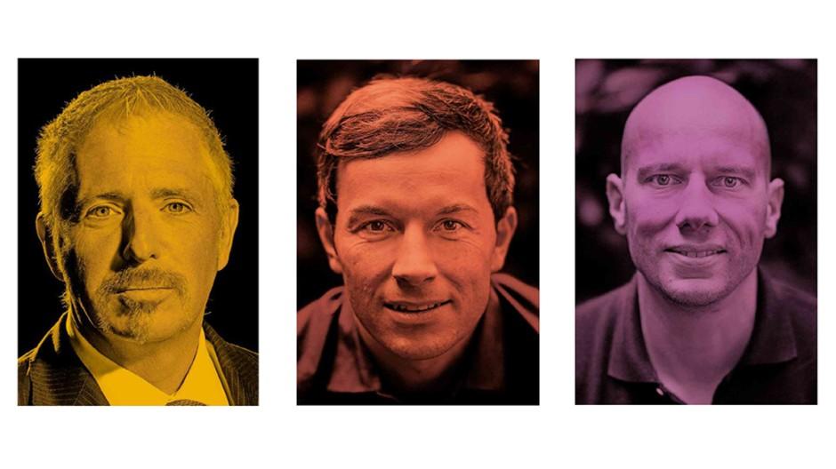 Dirk Müller, Marc Friedrich und Matthias Weik (v.l.n.r.)