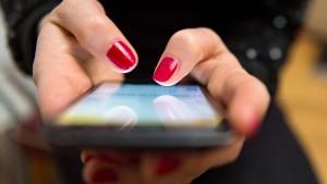 Smartphones voller Gespenster