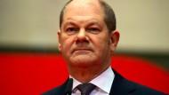 Der neue Bundesfinanzminister Olaf Scholz (SPD)